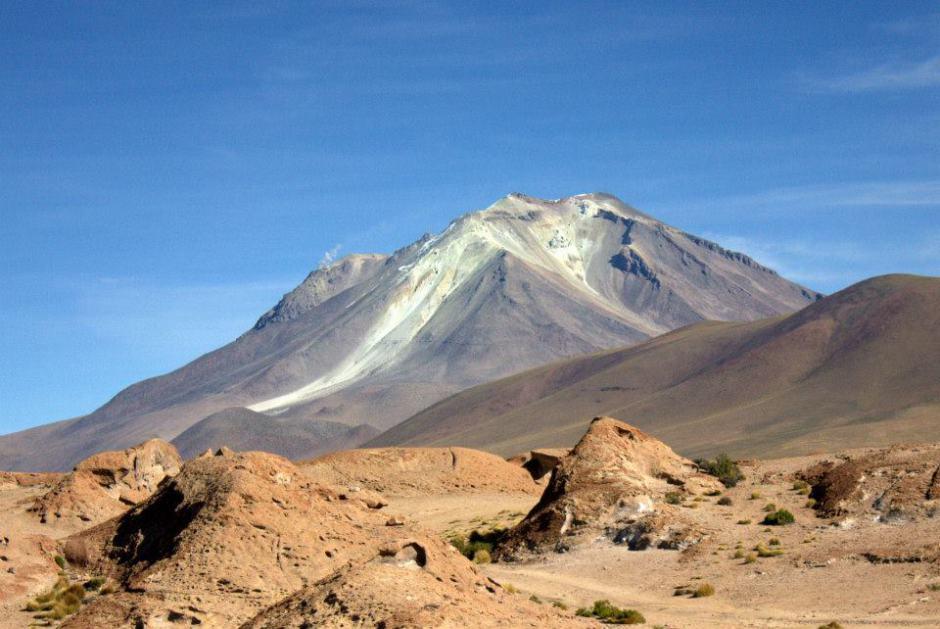 Past volcanoes