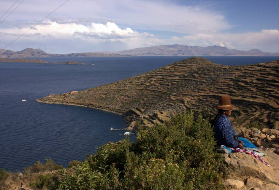 For the mystical Lake Titicaca
