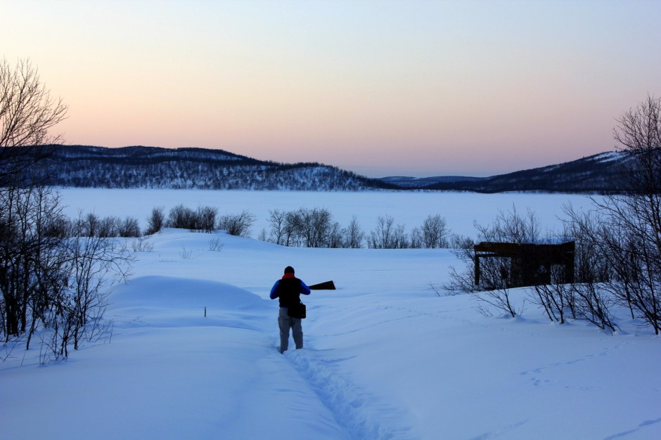 Visiting a Pomor village during Russian arctic adventure