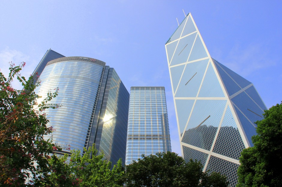 Central was the glittering side of HongKong