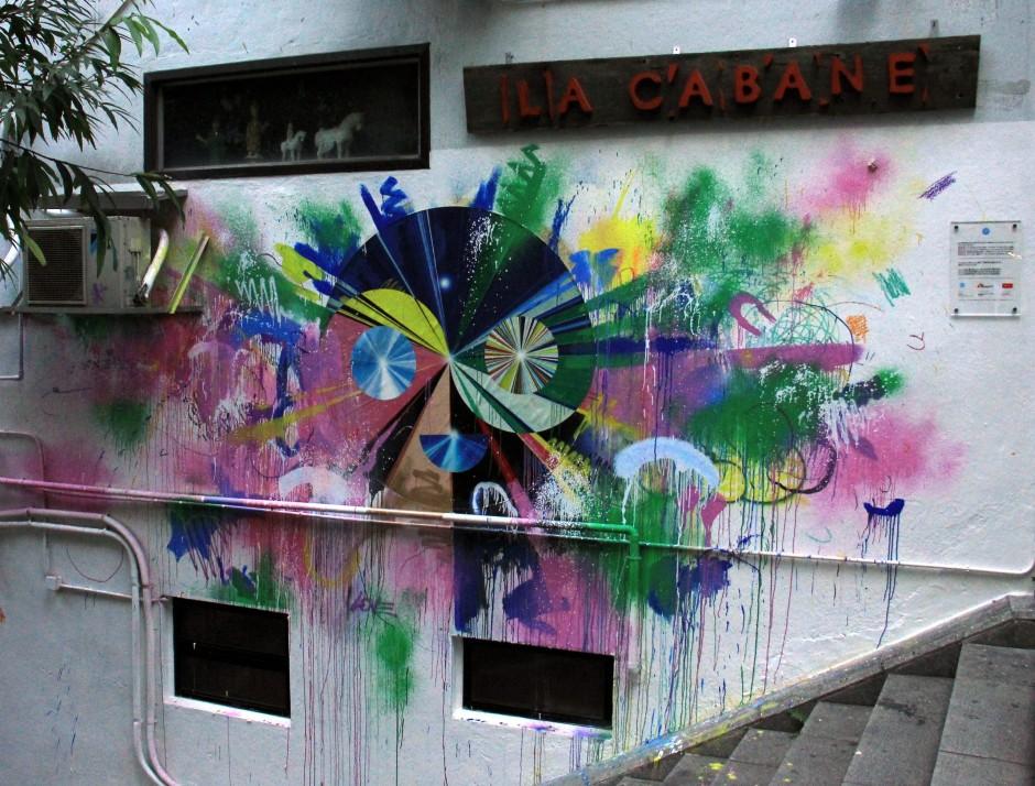 Street Art splashed across HK