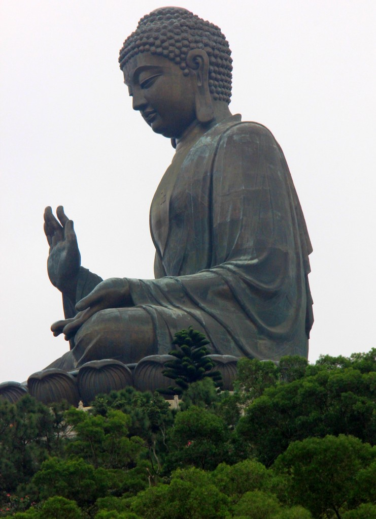 The Big Buddha of Po Lin Monastery