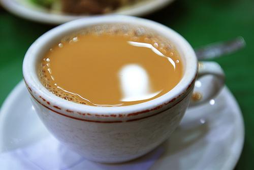HongKong silk stocking tea