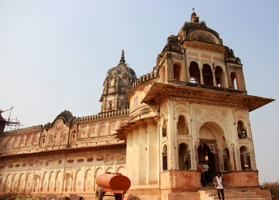 Leaving Laxmi Temple behind
