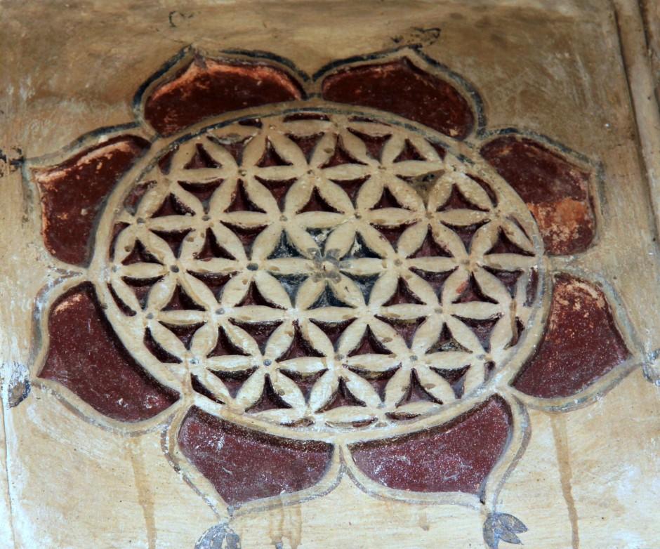Beautiful,ravaged tile work