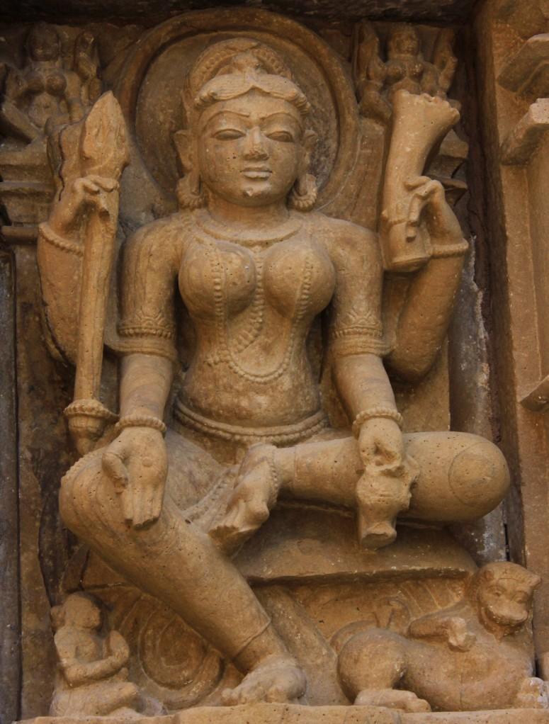 And a goddess