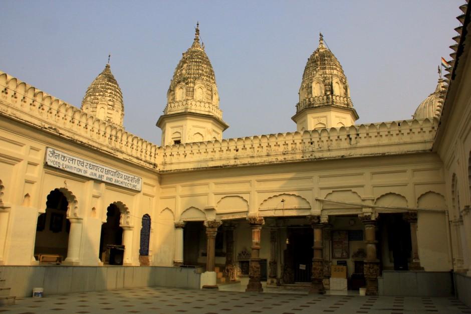 The beautiful Jain temples