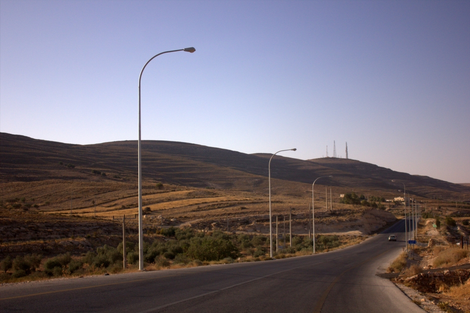 Endless Jordanian flats