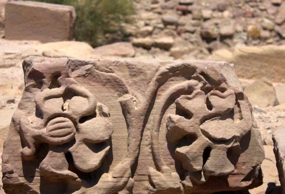 Beautifully carved Nabataean temples