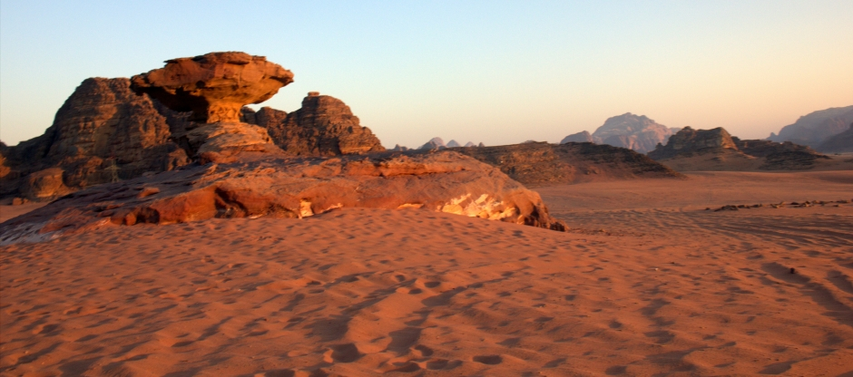 The spectacular Wadi Rum