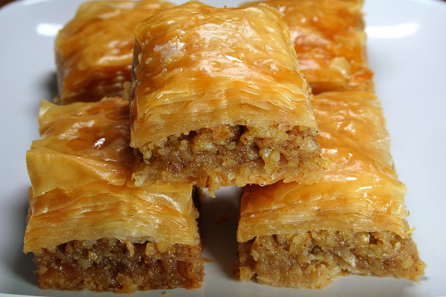 And Baklava breaks