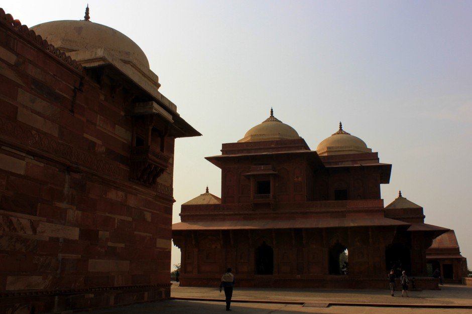 Ghost city of Fatehpur Sikri