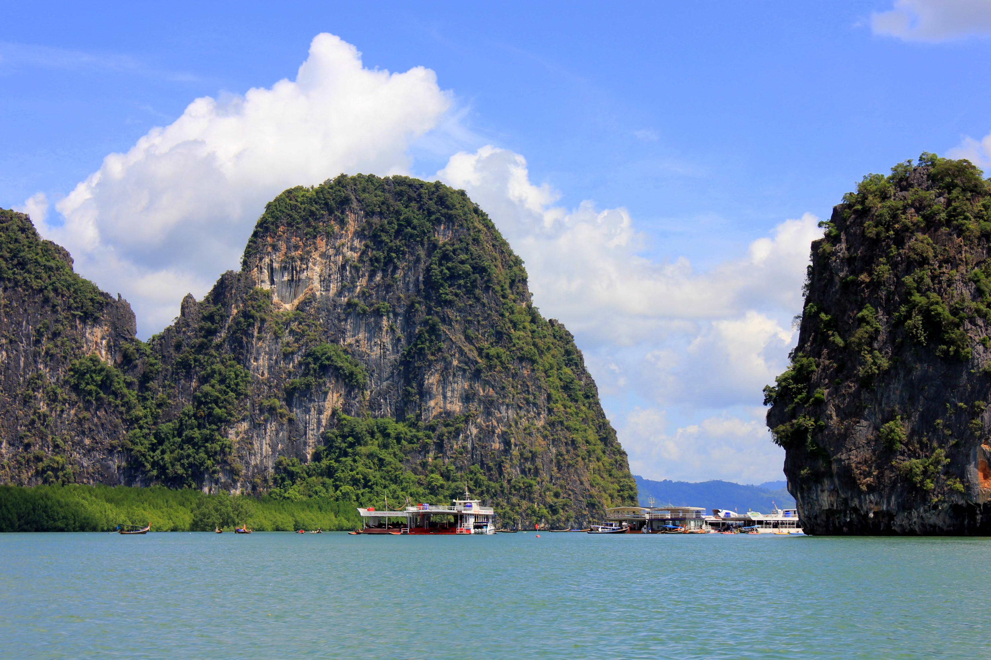 Phang Nga was spectacular