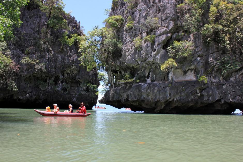 Before some sea kayaking