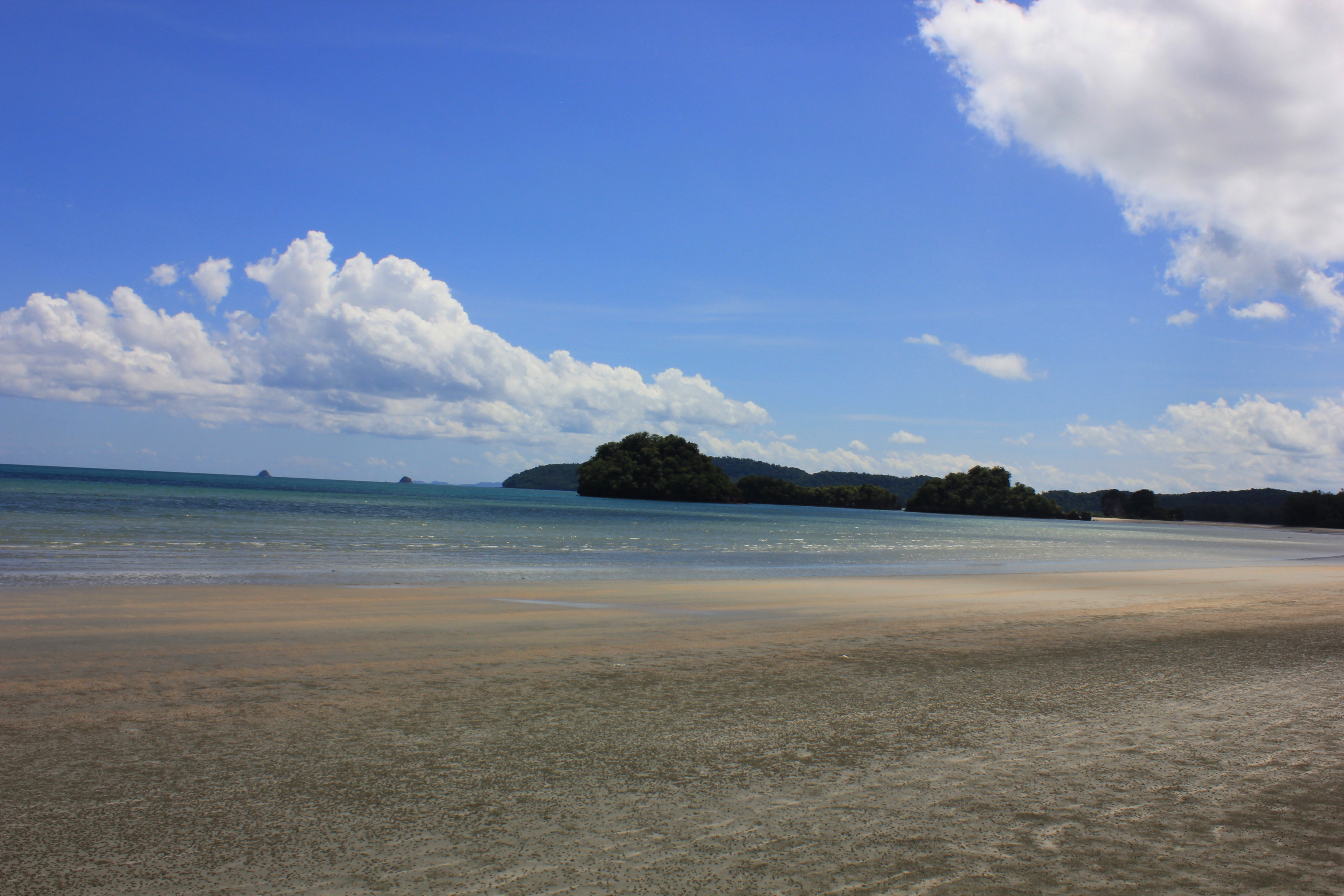 I walked along Ao Nang beach