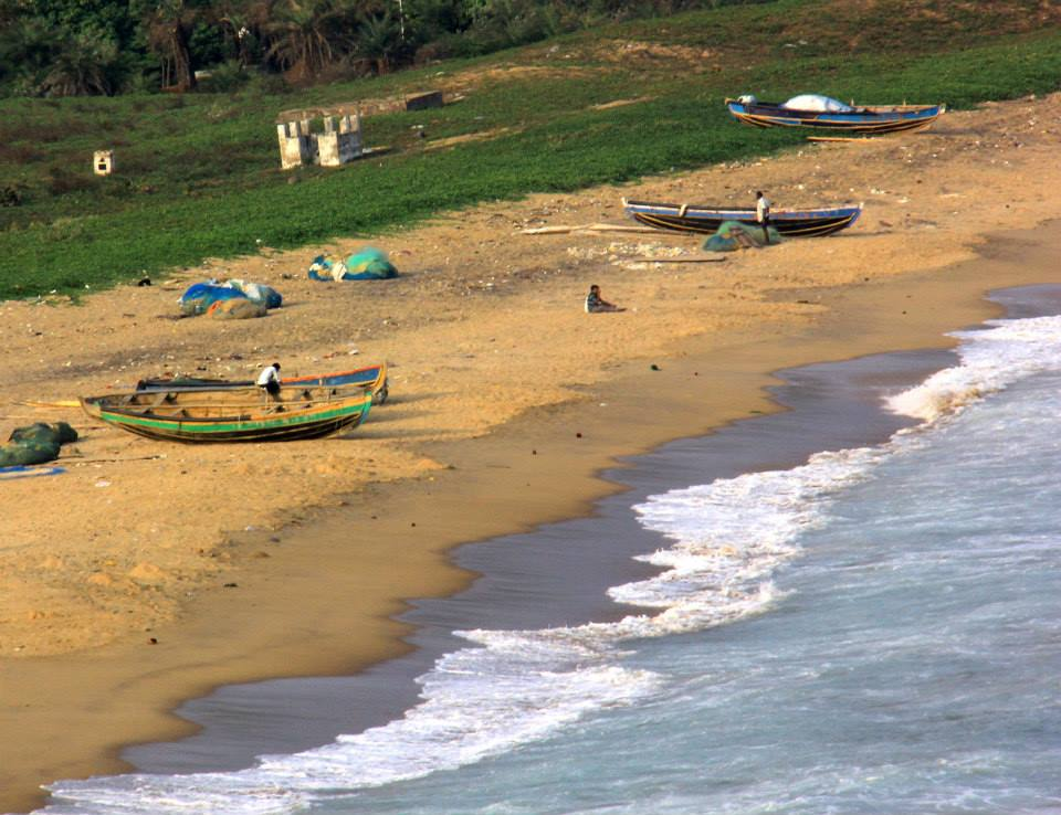 A charming coastal town