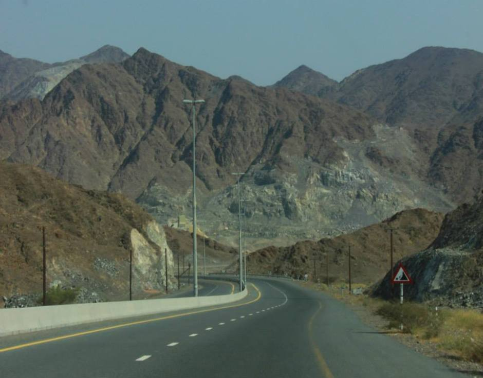 Once on my way back from Oman