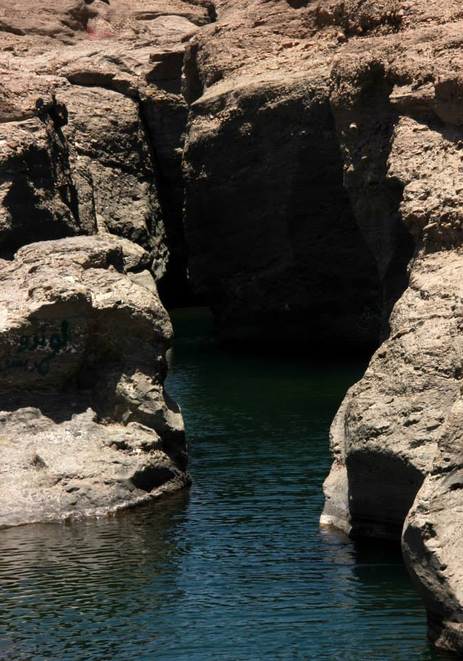 And deep canyons