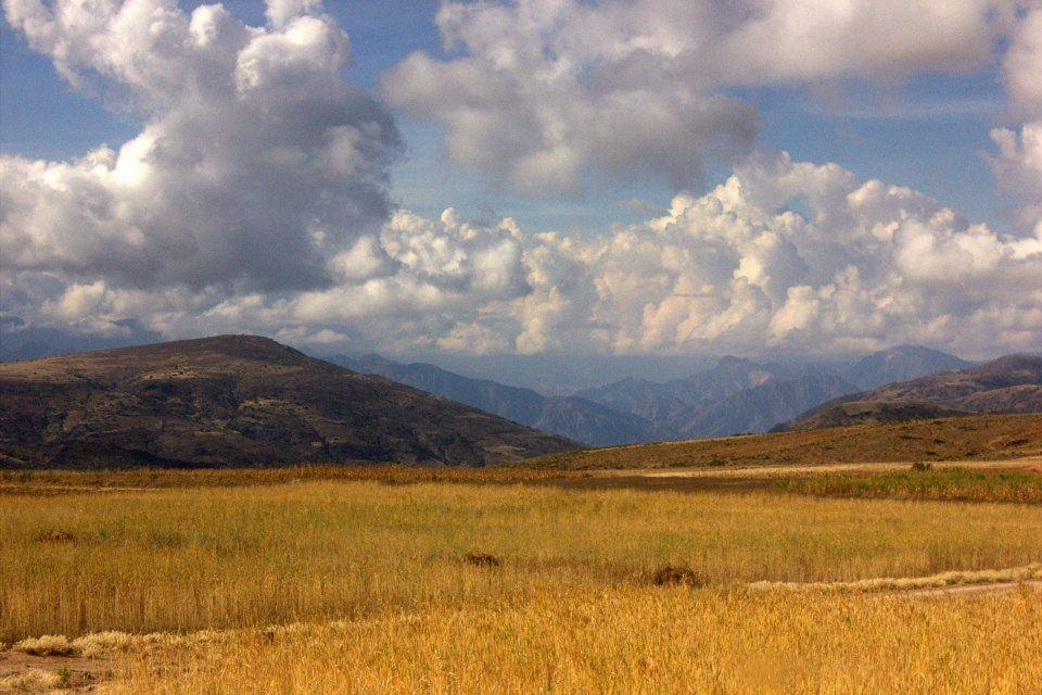 Beautiful Bolivian country