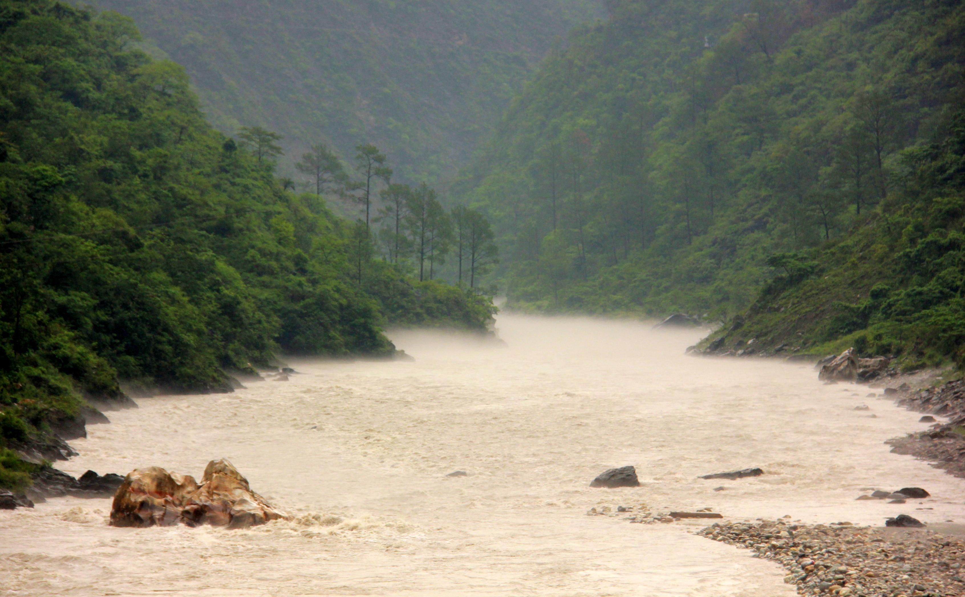 Misty rivers