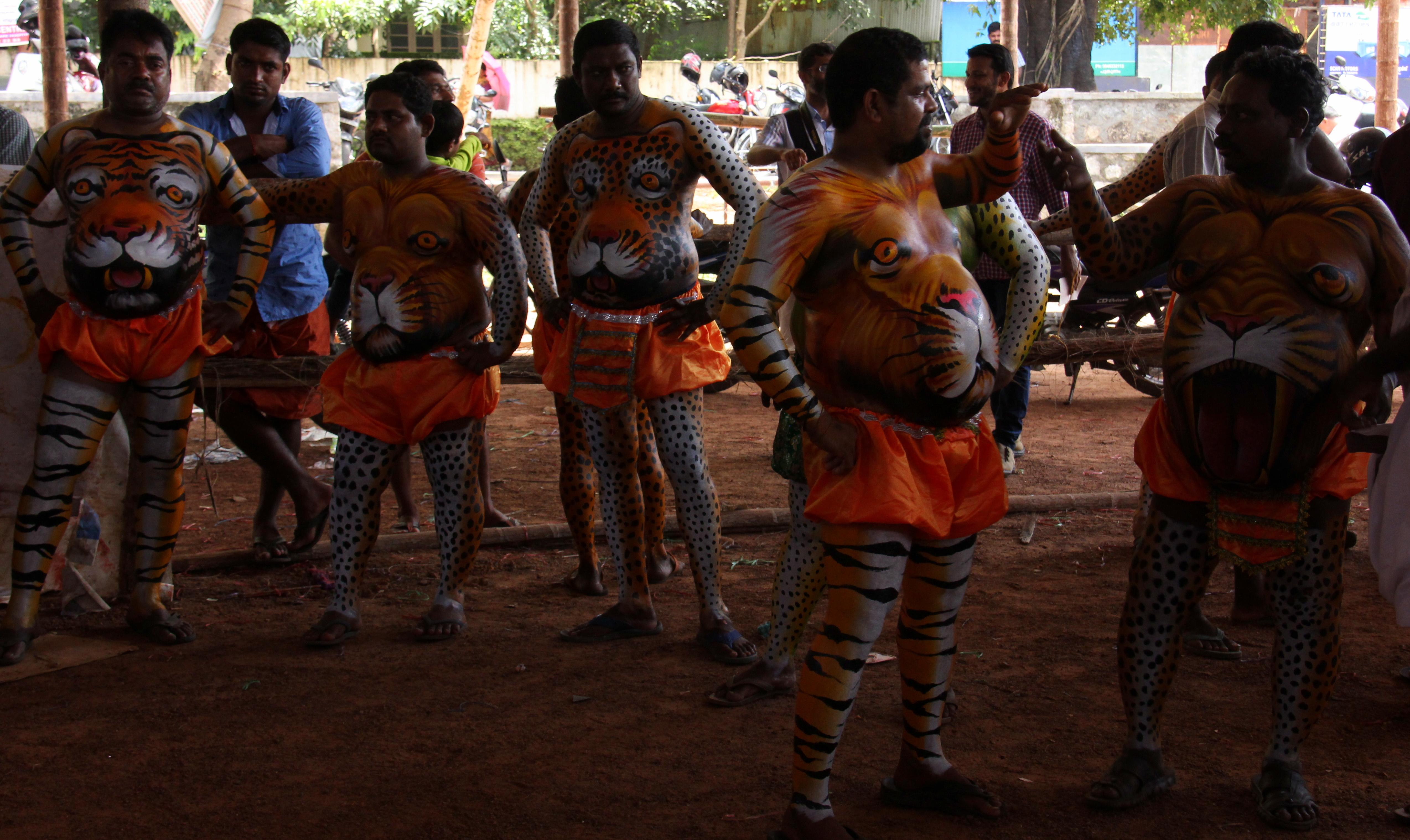 Pulikali Tigers
