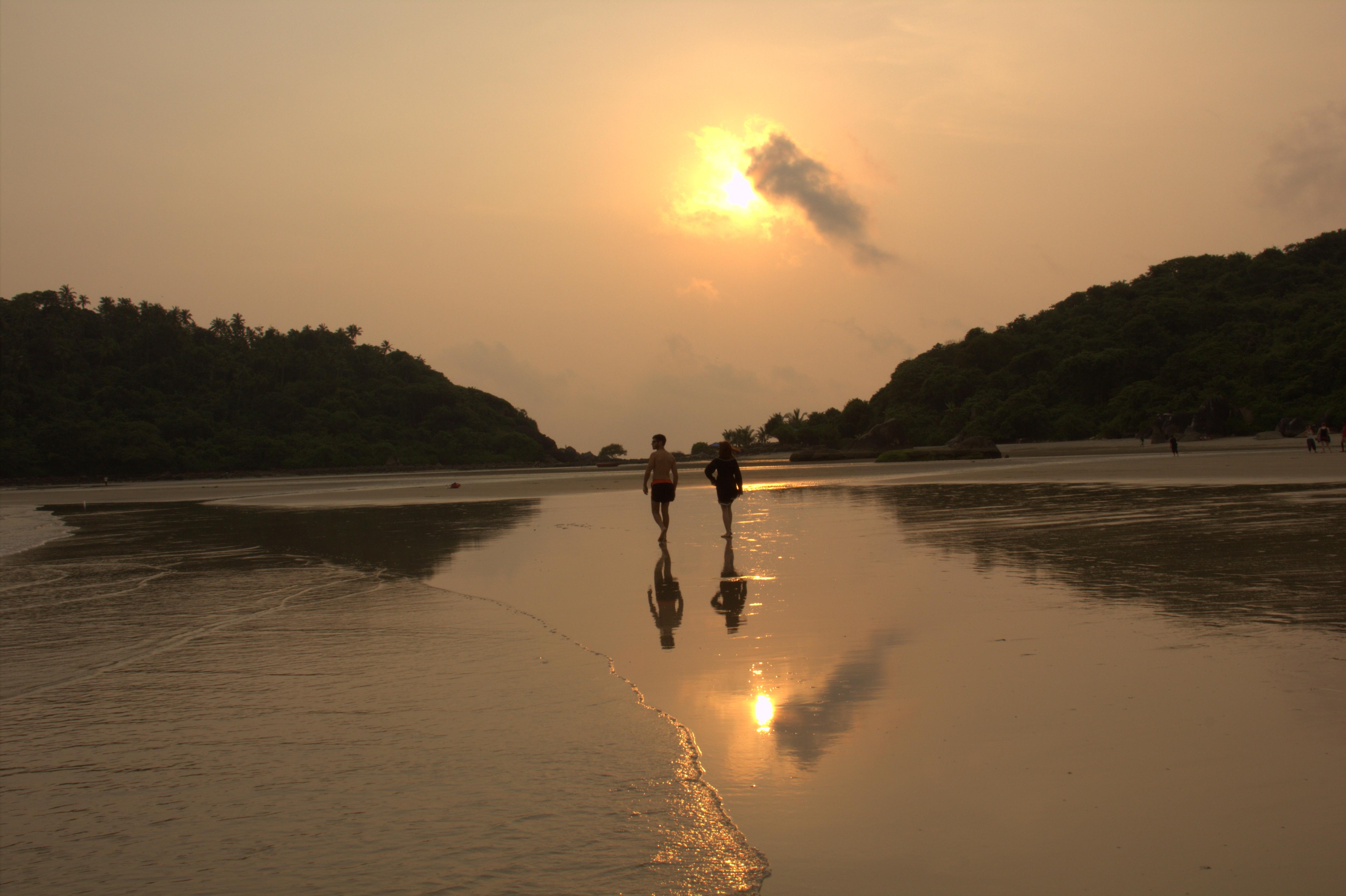 More Goan sunsets