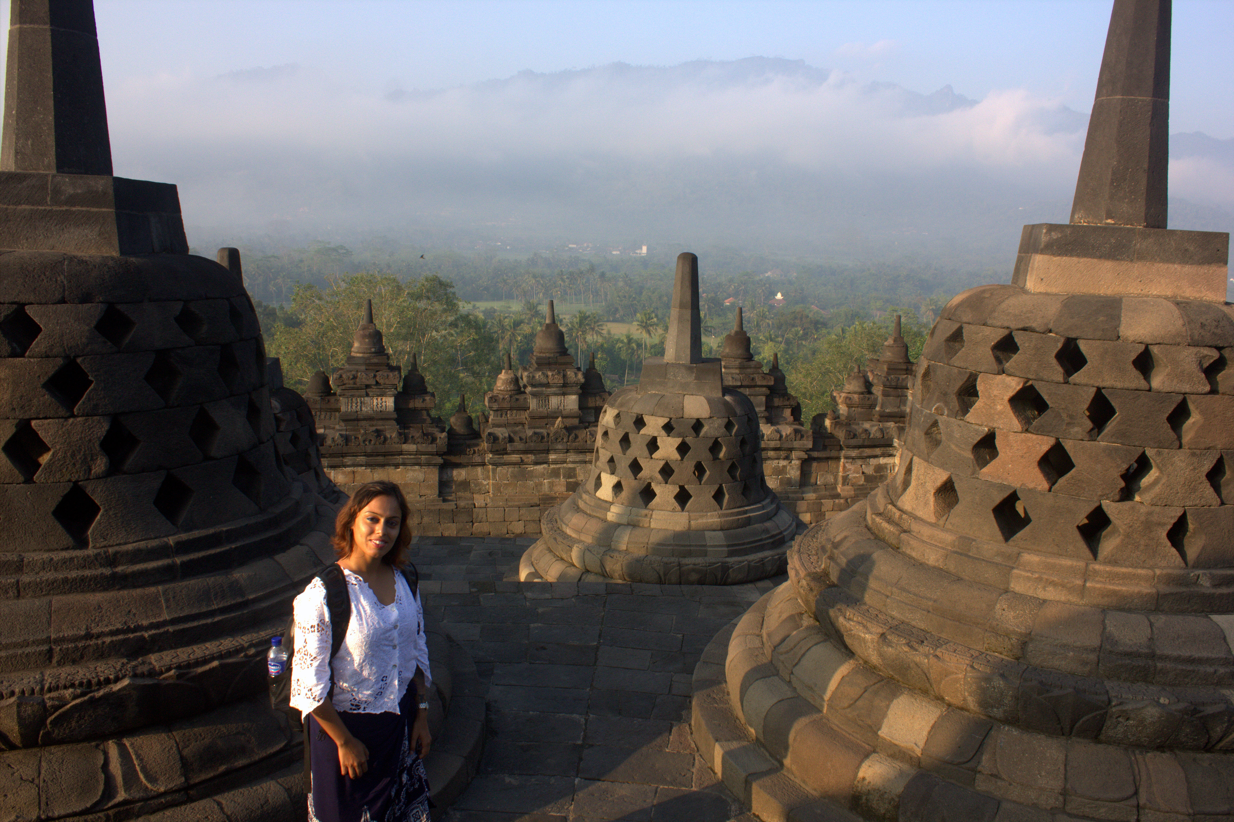 We had Borobudur on our minds