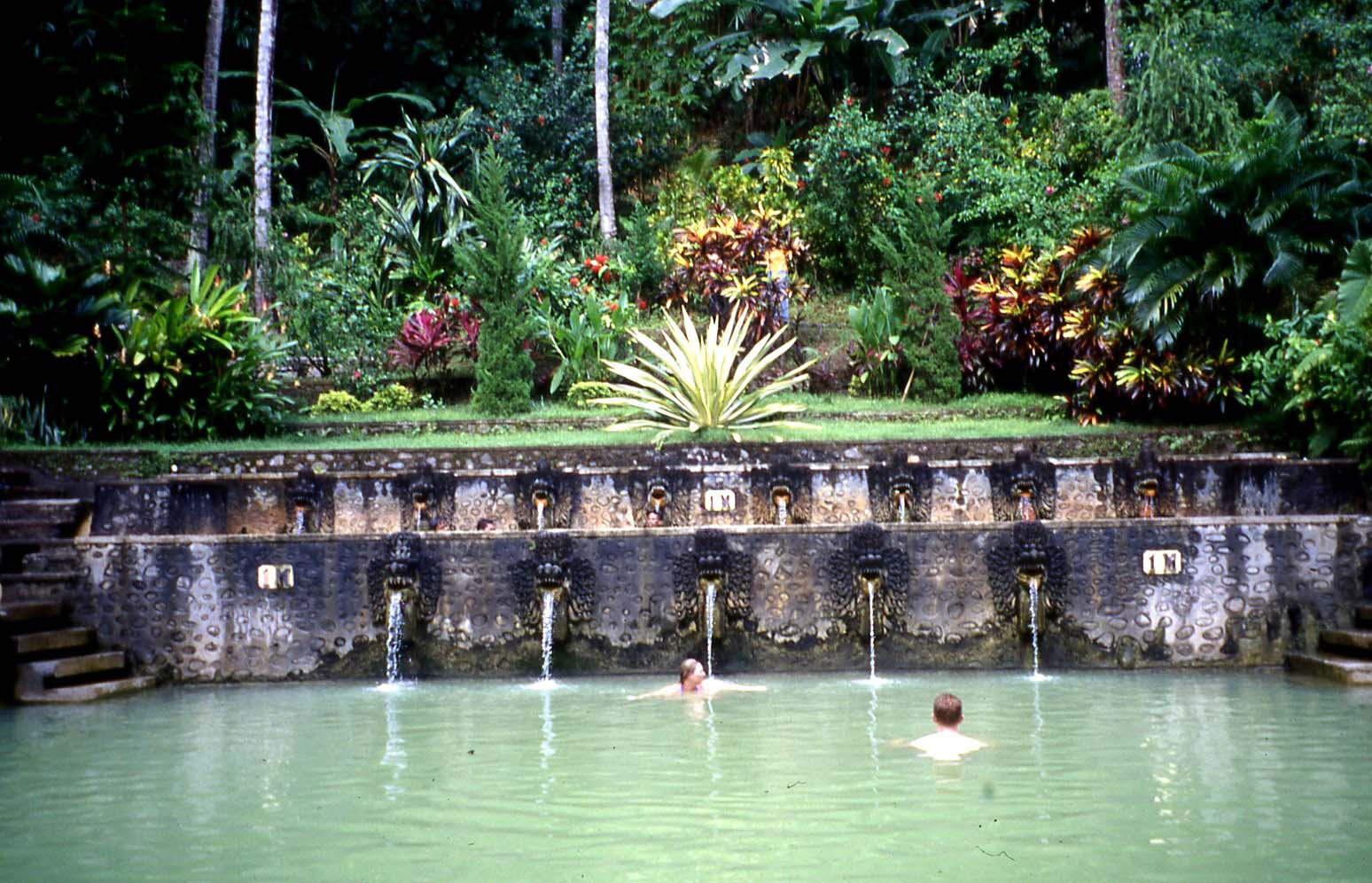 The hot springs of Banjar