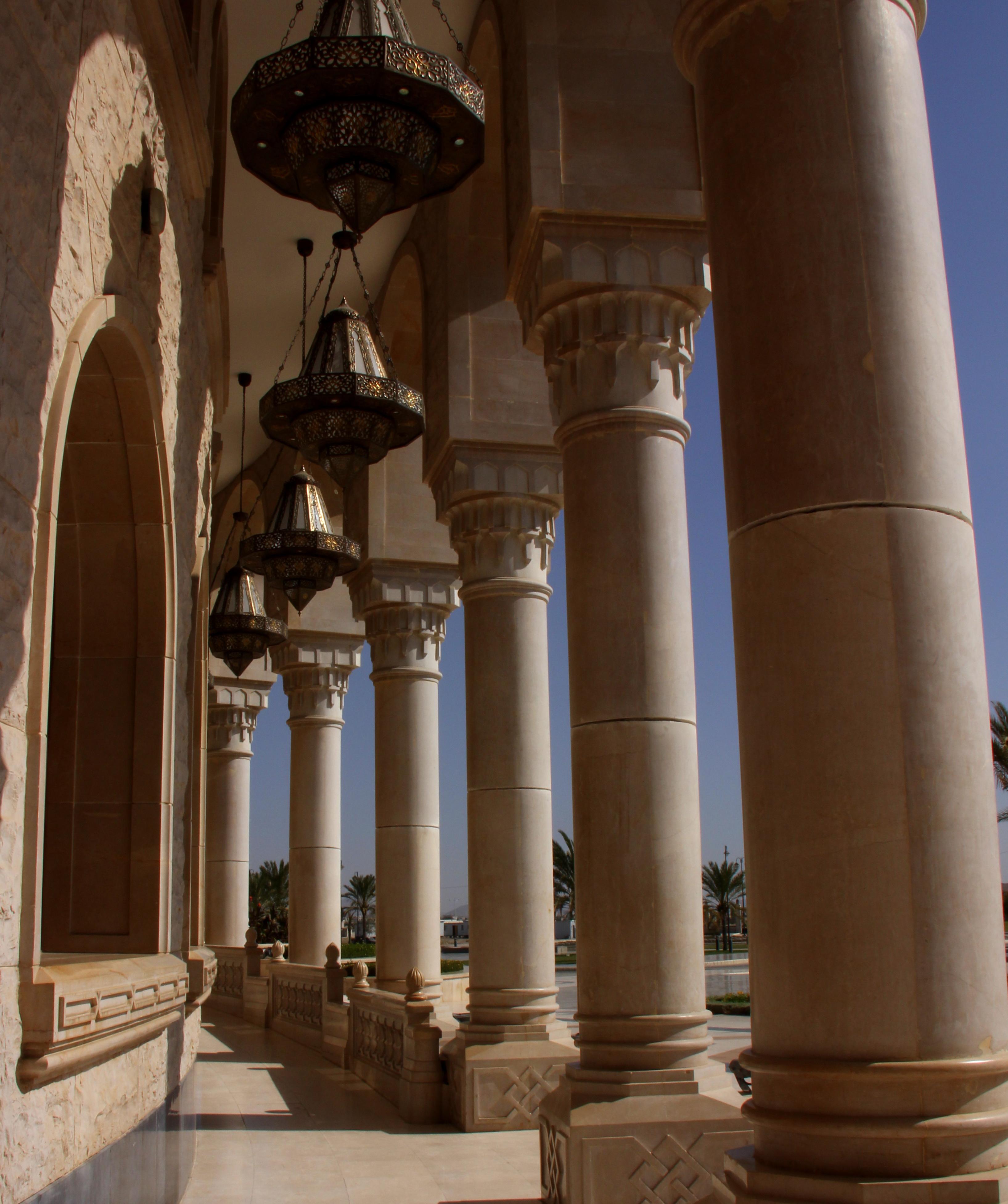The huge Saleh Mosque