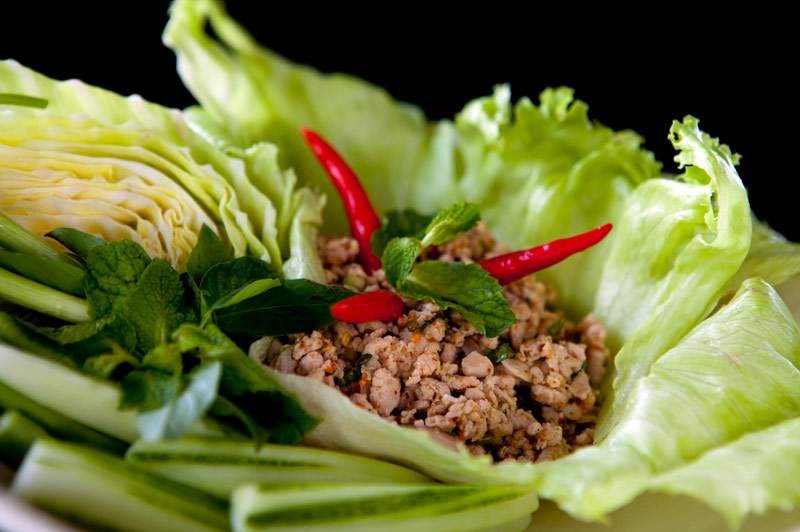 #thailand #thaifood #thaitourism #bangkokcookingclass #bangkokmarket #larbisan