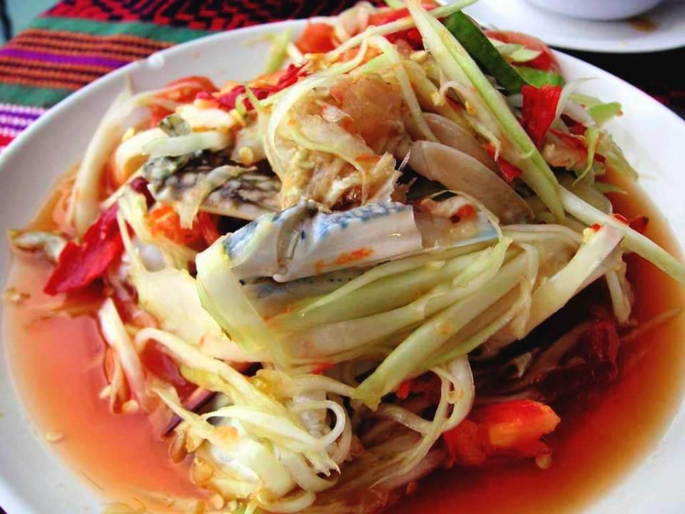 #thailand #thaifood #thaitourism #bangkokcookingclass #bangkokmarket #somtam