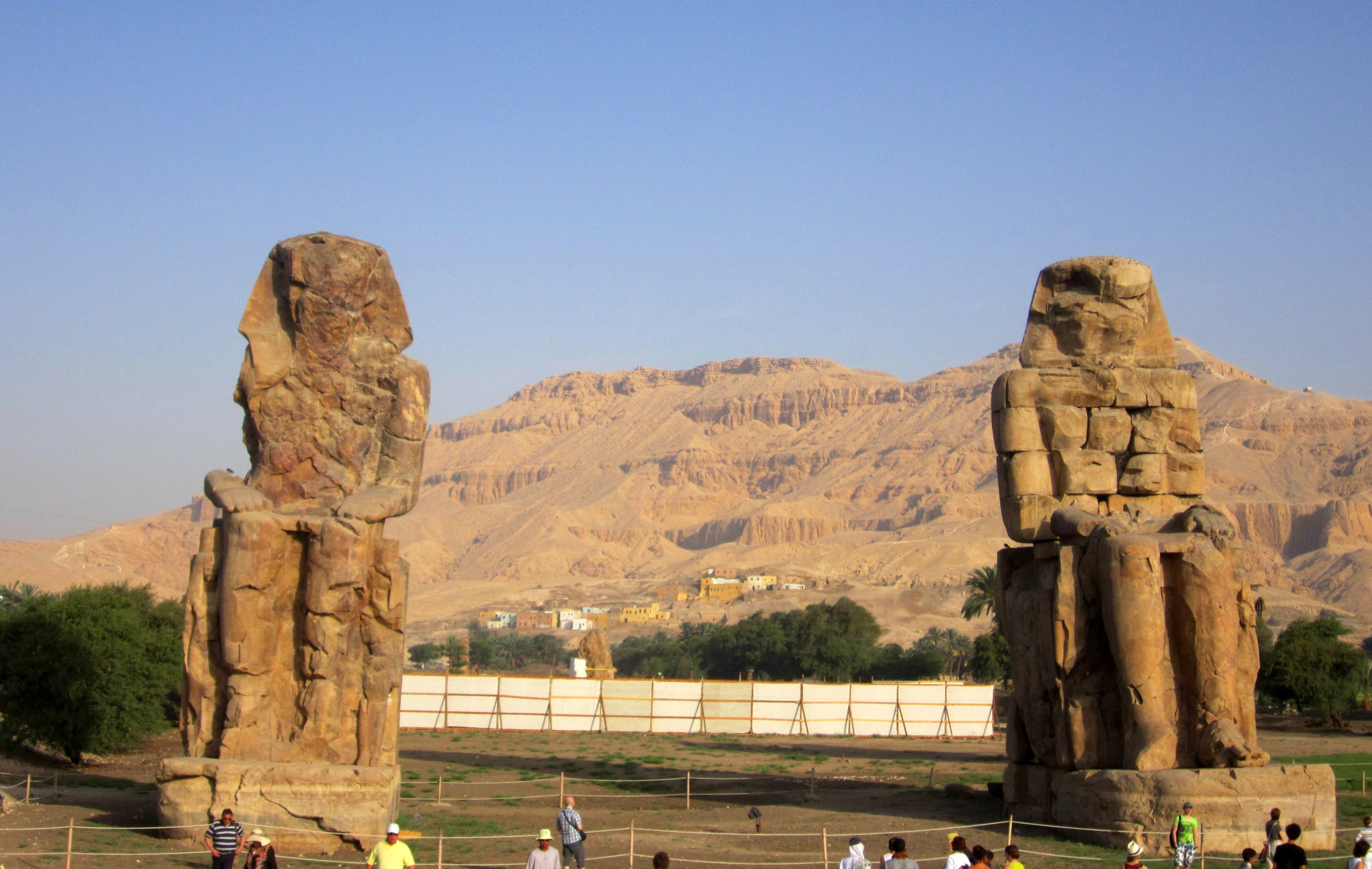 #egypt #egypttourism #rivernile #luxor #luxortourism #luxorwestbank #Colossiofmemnon