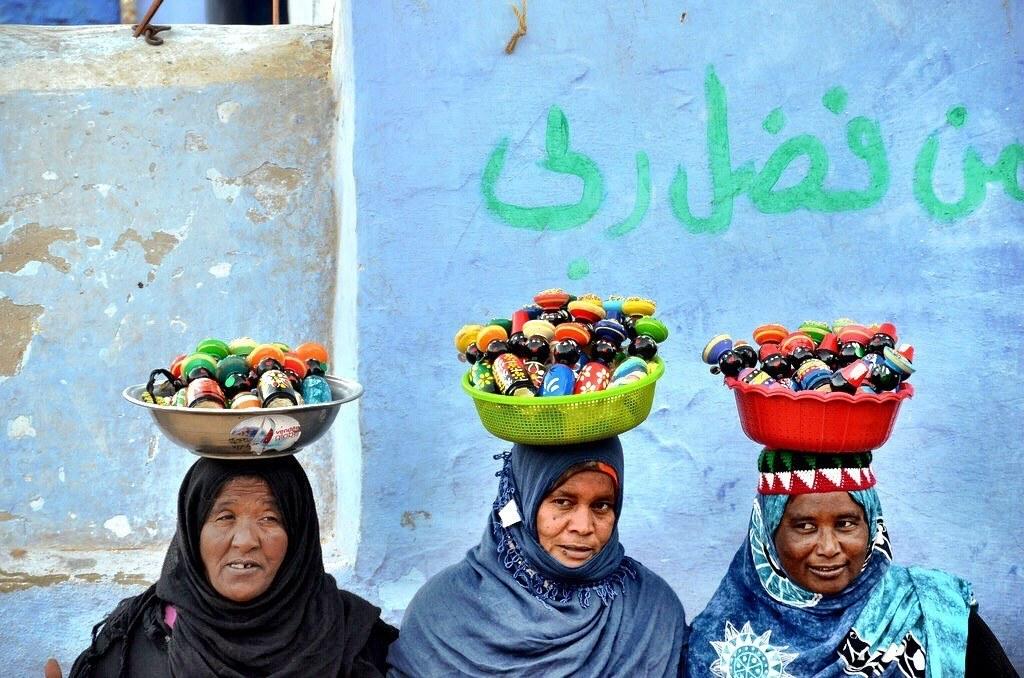 #egypt #egypttourism #aswan #aswannubian village #nubianwomen