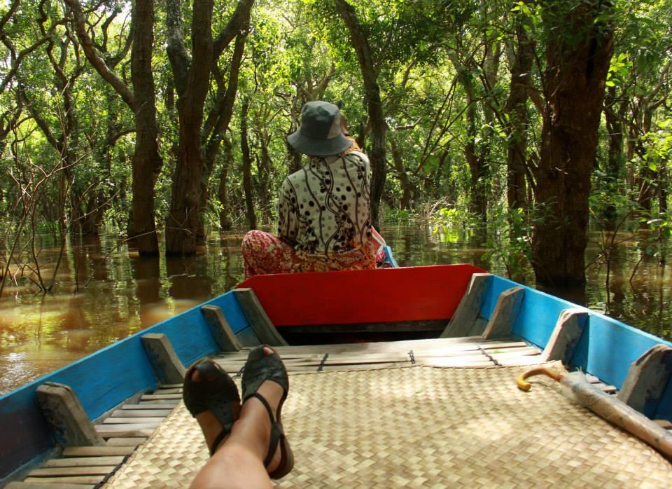 #Cambodia #Tonlesap #floodedforest