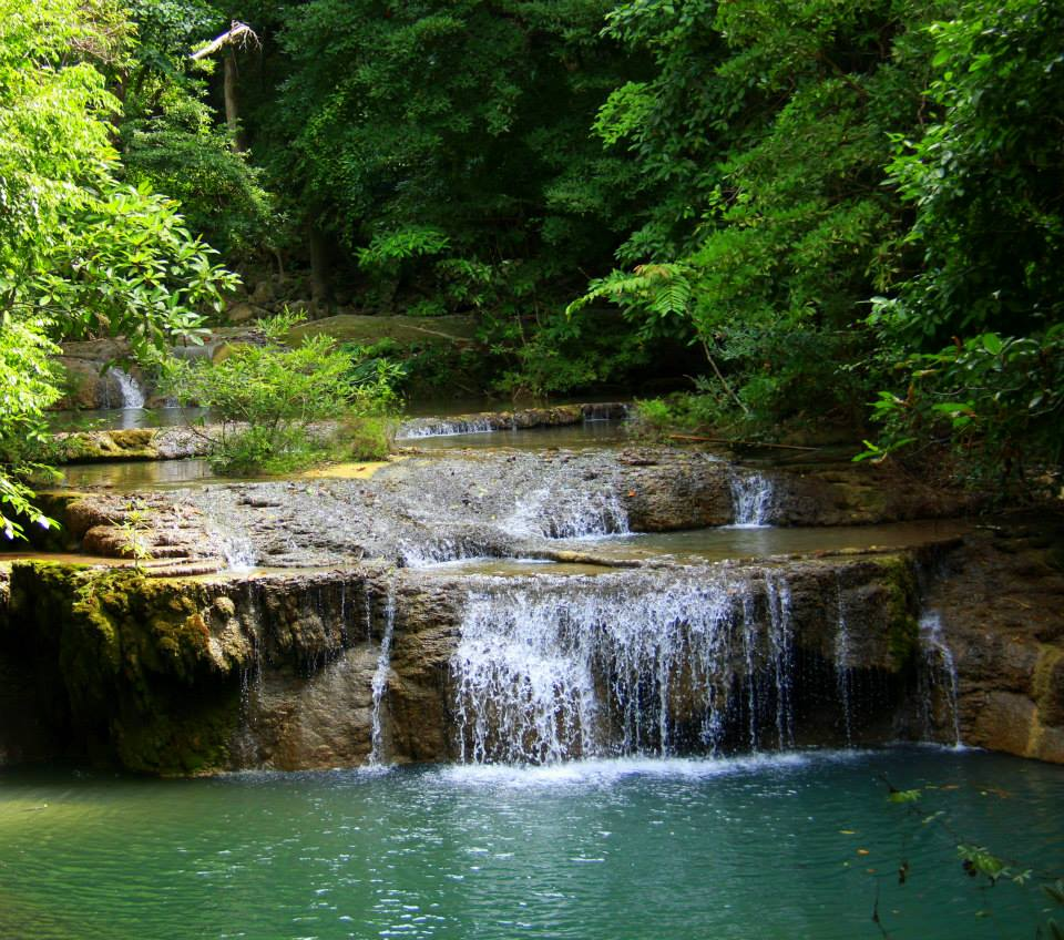 #Thailand #Kanchanaburi #Erawannationalpark