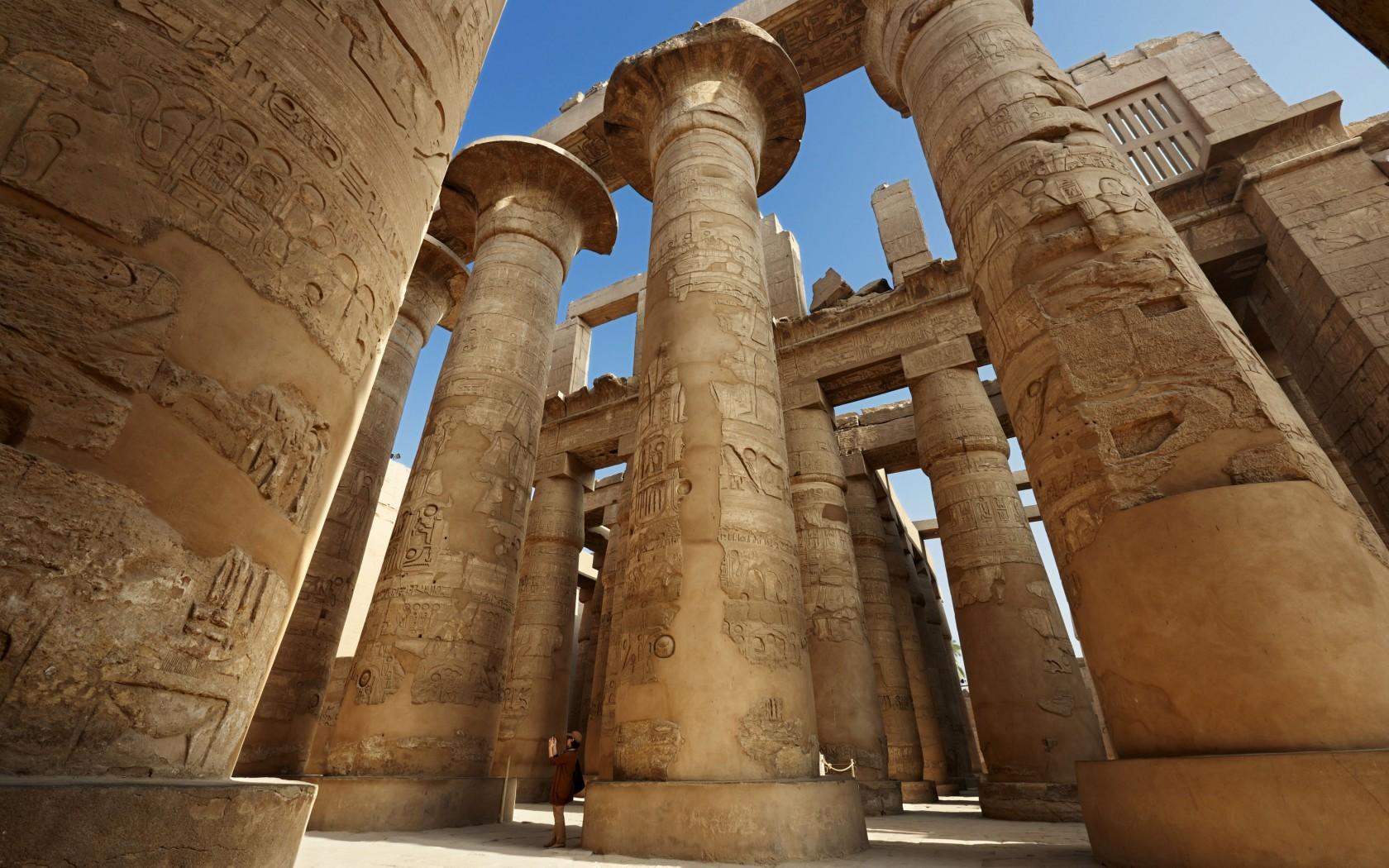 #egypt #egypttourism #rivernile #luxor #karnaktemple